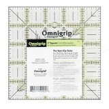 "5"" Square, No-Slip Ruler, Omnigrid"