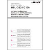 Instruction Manual, Juki HZL-G220