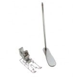 """1/4"""" Clear Foot w/ Guide, Low Shank #P60307"""