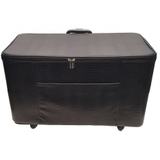 27in Wheeled Sewing Machine Hard Case - Black