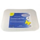Bosal Placemat Rectangle Craft Pack - 4pk