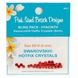 Pink Sand Beach Designs, Bling Pack Swarovski Hotfix Crystals