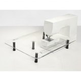 """18"""" x 24"""" Sew Steady Acrylic Table for Singer Models"""