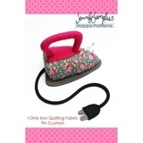 I Only Iron Quilt Fabric Pin Cushion Pattern