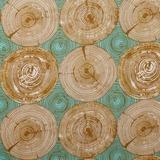Joel Dewberry, Modernist, Tree Ring Bling, Dijon Fabric