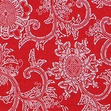 Free Spirit, Parson Gray, Boro, Bandana Fabric, Red