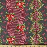 Verna Mosquera, Indigo Rose, Blossom Time, Stardust Fabric