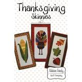 Thanksgiving Skinnies Pattern, Ribbon Candy Quilt Company