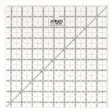 Frosted Square Ruler (9.5x9.5), Olfa