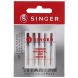 Universal Titanium Needles, Singer Type 2020T (5pk)