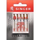 Titanium Ball Point Needles, Singer Type 2045T (5pk)