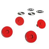Sassafras Lane Designs, Magnetic Snaps (2pk) - Red