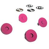 Sassafras Lane Designs, Magnetic Snaps (2pk) - Pink