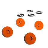 Sassafras Lane Designs, Magnetic Snaps (2pk) - Orange