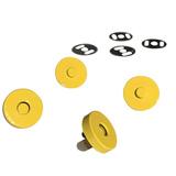 Sassafras Lane Designs, Magnetic Snaps (2pk) - Yellow
