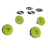 Sassafras Lane Designs, Magnetic Snaps (2pk) - Lime