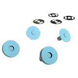 Sassafras Lane Designs, Magnetic Snaps (2pk) - Light Blue