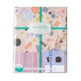 Sewing Themed Wrapping Paper (3pk) - 21-1/2in x 34in