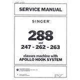 Service Manual, Singer 263