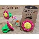 Aro Pin Cushion Ring, Flower, Smartneedle