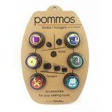 Pommos Knobs/Hangers (6pcs), Smartneedle