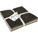 "Woolies Flannel 10"" Fabric Squares (42pcs) - Neutrals"