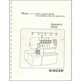 Instruction Manual, Singer 14U557