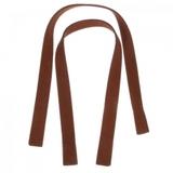 "Suedette 20"" Faux Leather Bag Handles - Brown"