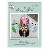 Hot Who! Owl Hot Pads Pattern, Susie C Shore Designs