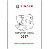 Instruction Manual, Singer 3337 Simple