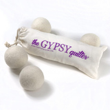 Gypsy Quilter, Wool Dryer Balls - 4pk
