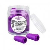 Gypsy Quilter Purple Heat Resistant Thimbles - 48pc