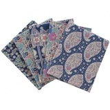 Vintage Tilda, Plum Garden Blue Fat Quarter Bundle (5pk)