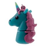 Tula Pink 16GB Unicorn USB Flash Drive - Blue
