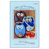Who Owl Pot Holders Pattern, Susie C Shore Designs