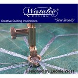 Westalee Medium Shank Decorative Thread Ruler Foot