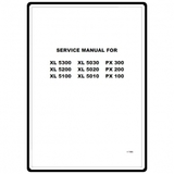 Service Manual, Brother XL5340