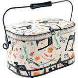 St. Jane Large Oval Sewing Basket