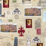 Robert Kaufman, Heirloom Diary, Florence, Antique Fabric