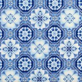 Robert Kaufman, La Scala 7 Metallic Fabric, Evening Blue