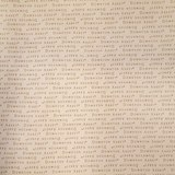 Downton Abbey Logos and Labels Fabric, Beige