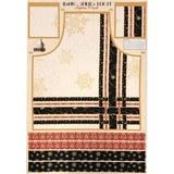 Wilmington Prints, Making Spirits Bright Apron Fabric Panel