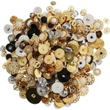 Assorted Costume Buttons - 1lb