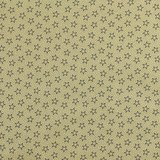 """108"""" Quilt Backing, Antique Stars and Dots, Navy"""