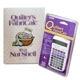 Quilter's FabriCalc Calculator with Workbook