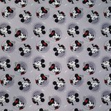 Disney, Smile Mickey Fabric, Mickey & Minnie Fashions