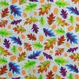 Studio E, Autumn Hues, Leaves Fabric