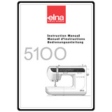 Instruction Manual, Elna 5100