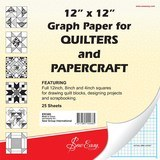 12in Square Graph Paper 25pk, Sew Easy