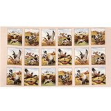 Elizabeth's Studio, Sports Afield Bird Hunting Fabric Panel